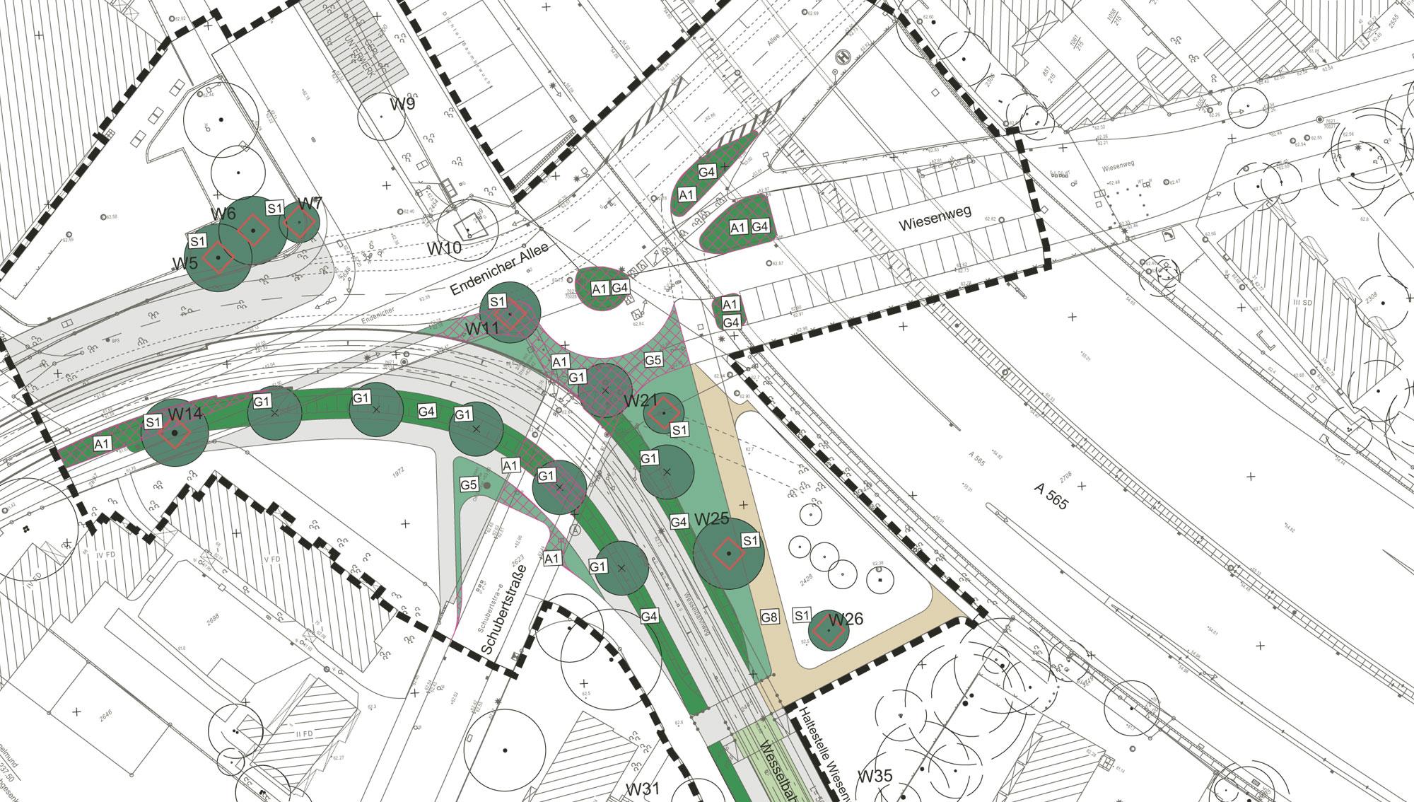 RMP Stephan Lenzen Landschaftsarchitekten The Hardtberg line Bonn