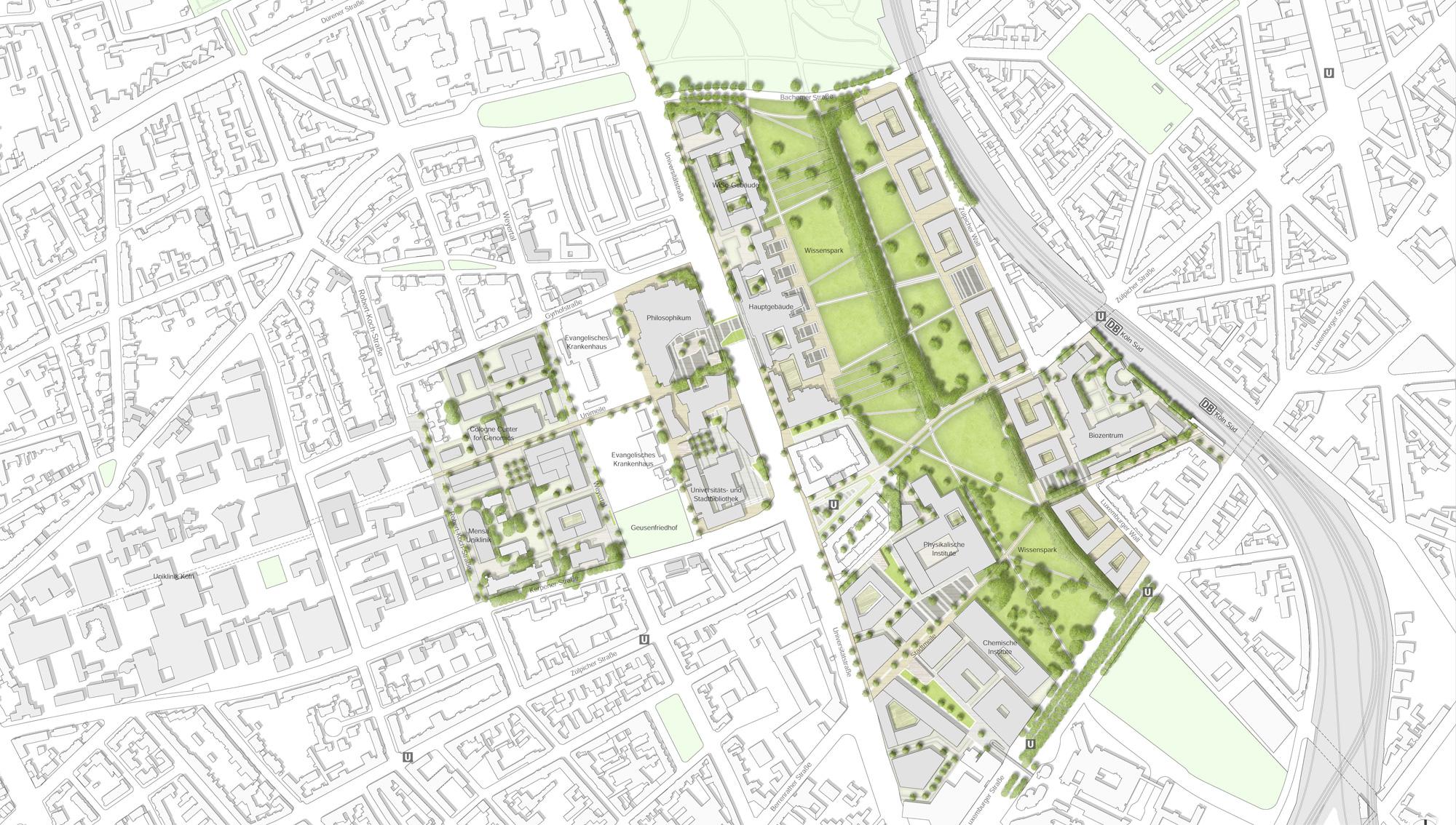 Landschaftsarchitekten Köln rmp stephan lenzen landschaftsarchitekten frameworks and concepts