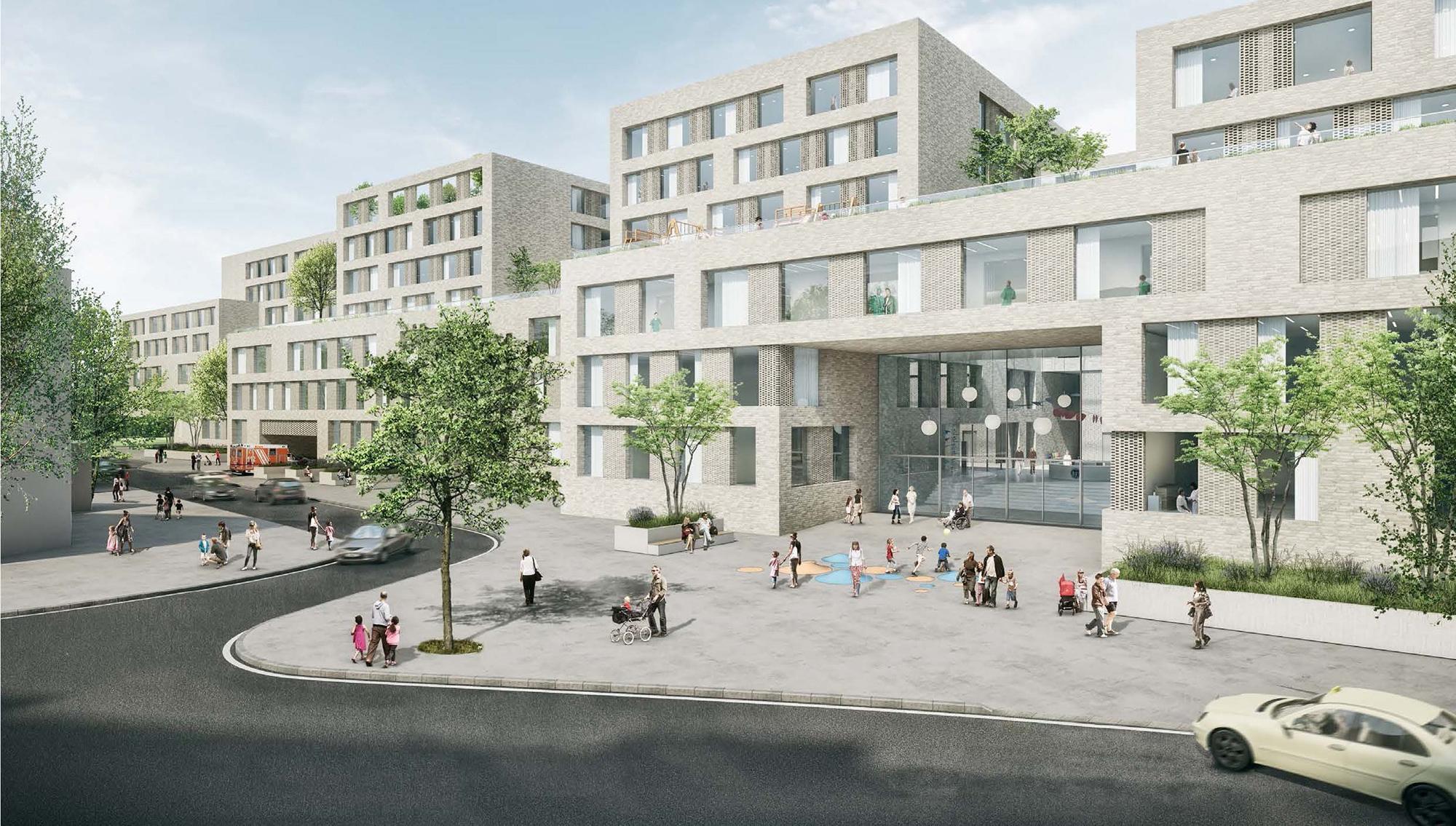 Landschaftsarchitekten Köln rmp stephan lenzen landschaftsarchitekten universitätsklinikum köln